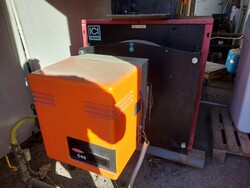 Caldaia Ici e Compressori Nuair - Lotto 5 (Asta 6067)
