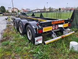 Sansavini semi trailer - Lot 2 (Auction 6070)