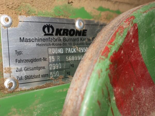 1#6072 Ranghinatore Krone e attrezzature agricole in vendita - foto 23