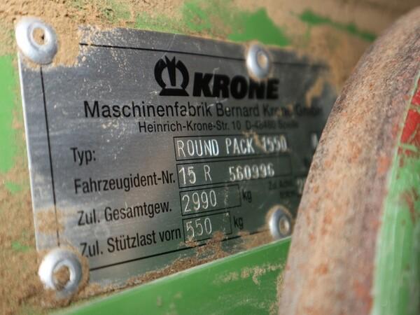 1#6072 Ranghinatore Krone e attrezzature agricole in vendita - foto 24