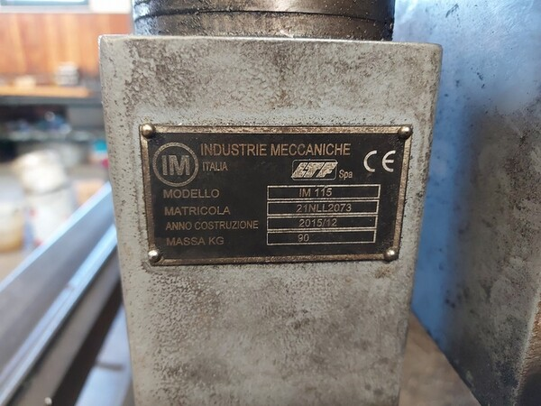 4#6076 Tornio Pico e macchinari per lavorazione metalli e saldatura in vendita - foto 187