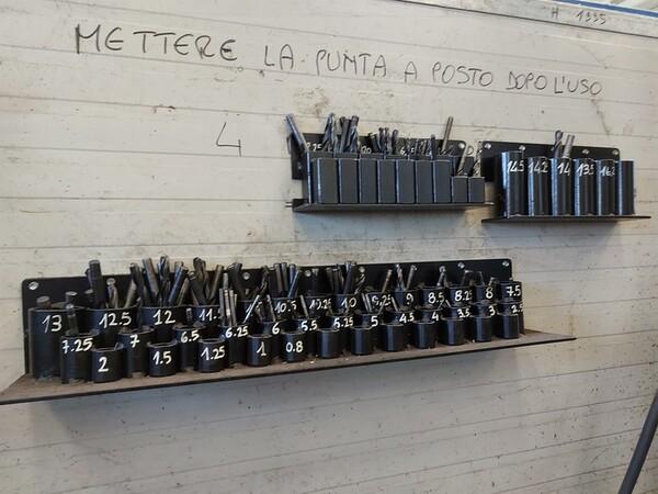 4#6076 Tornio Pico e macchinari per lavorazione metalli e saldatura in vendita - foto 190