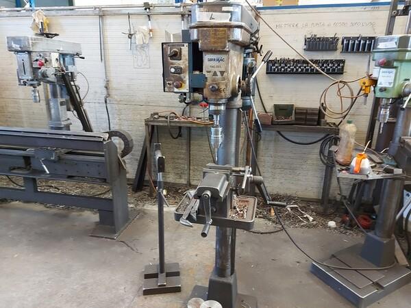 4#6076 Tornio Pico e macchinari per lavorazione metalli e saldatura in vendita - foto 193