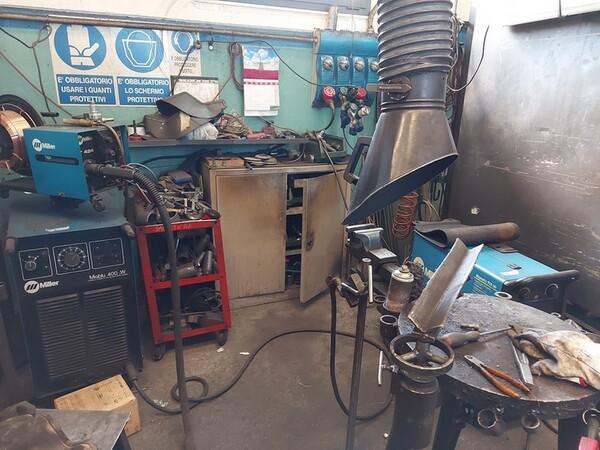 4#6076 Tornio Pico e macchinari per lavorazione metalli e saldatura in vendita - foto 220