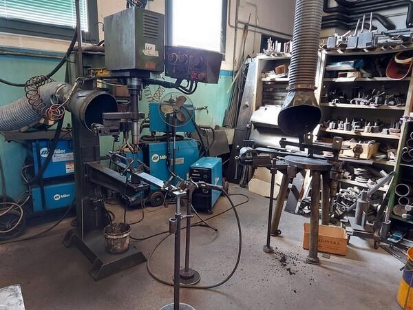 4#6076 Tornio Pico e macchinari per lavorazione metalli e saldatura in vendita - foto 229