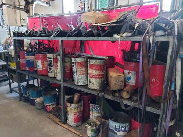 4#6076 Tornio Pico e macchinari per lavorazione metalli e saldatura in vendita - foto 251