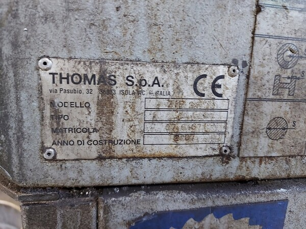4#6076 Tornio Pico e macchinari per lavorazione metalli e saldatura in vendita - foto 287