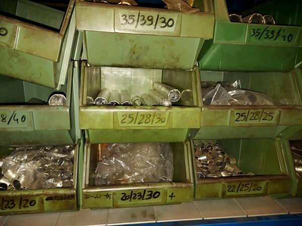 5#6076 Scaffalature industriali e carrelli metallici in vendita - foto 40