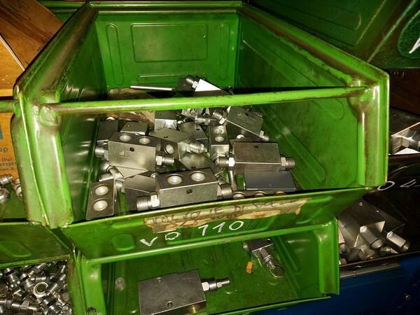 5#6076 Scaffalature industriali e carrelli metallici in vendita - foto 44