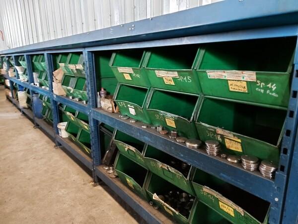 5#6076 Scaffalature industriali e carrelli metallici in vendita - foto 63