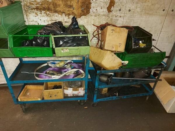 5#6076 Scaffalature industriali e carrelli metallici in vendita - foto 99