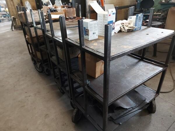 5#6076 Scaffalature industriali e carrelli metallici in vendita - foto 106
