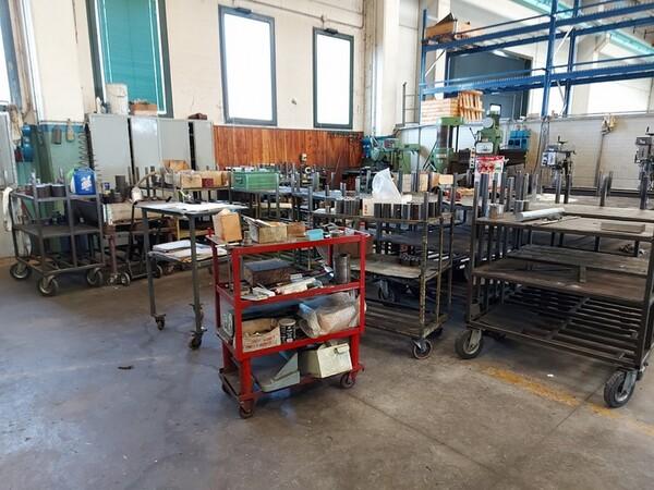 5#6076 Scaffalature industriali e carrelli metallici in vendita - foto 142