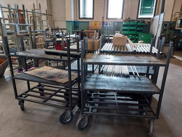 5#6076 Scaffalature industriali e carrelli metallici in vendita - foto 143