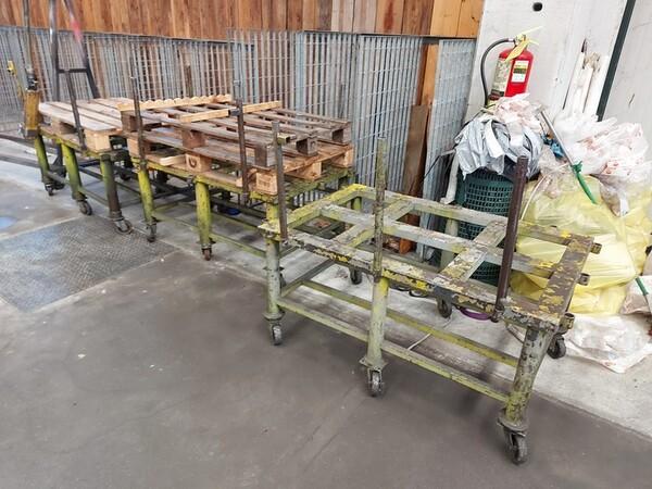 5#6076 Scaffalature industriali e carrelli metallici in vendita - foto 149