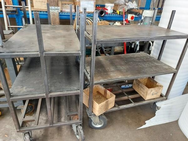 5#6076 Scaffalature industriali e carrelli metallici in vendita - foto 151