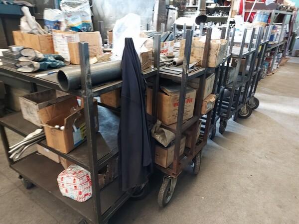 5#6076 Scaffalature industriali e carrelli metallici in vendita - foto 152