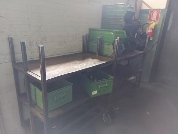 5#6076 Scaffalature industriali e carrelli metallici in vendita - foto 156