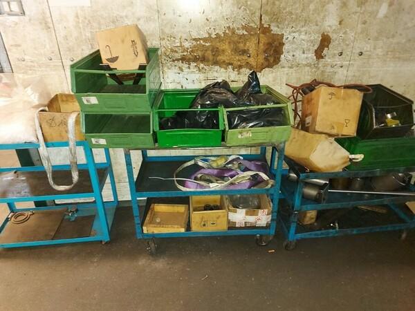 5#6076 Scaffalature industriali e carrelli metallici in vendita - foto 157