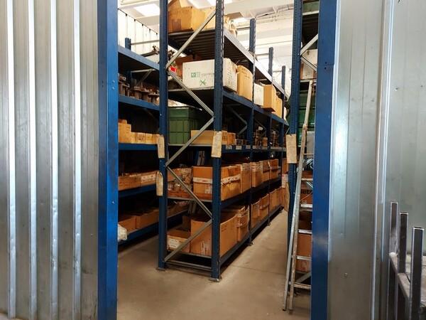 5#6076 Scaffalature industriali e carrelli metallici in vendita - foto 162