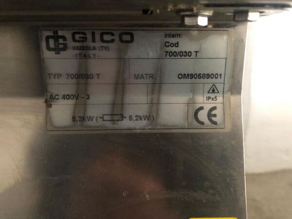44#6082 Piastra elettrica Gico in vendita - foto 3