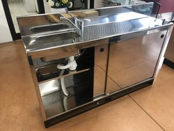 Stainless steel back counter - Lote 46 (Subasta 6082)