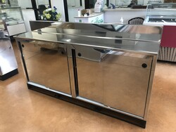 Stainless steel back counter - Lote 47 (Subasta 6082)