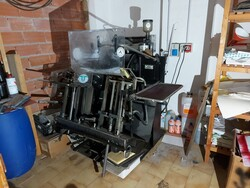 Heidelberg OHT letterpress - Lot 1 (Auction 6096)