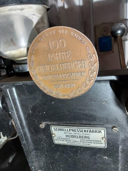 1#6096 Tipografica Heidelberg OHT in vendita - foto 2