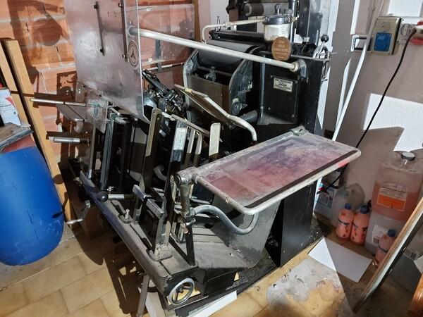 1#6096 Tipografica Heidelberg OHT in vendita - foto 10