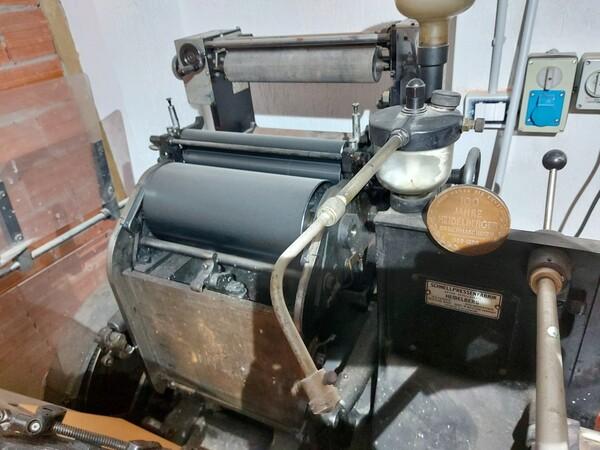 1#6096 Tipografica Heidelberg OHT in vendita - foto 13