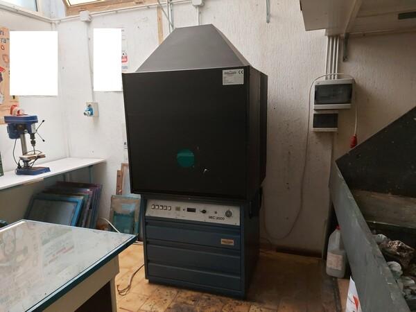 2#6096 Bromografo Mec 2000 e Macchina Polytronic in vendita - foto 1