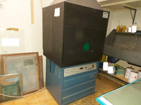 2#6096 Bromografo Mec 2000 e Macchina Polytronic in vendita - foto 5