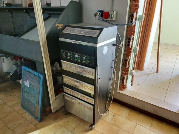 2#6096 Bromografo Mec 2000 e Macchina Polytronic in vendita - foto 6