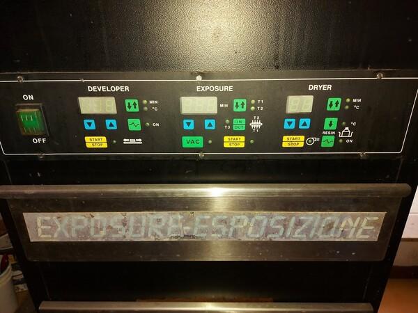 2#6096 Bromografo Mec 2000 e Macchina Polytronic in vendita - foto 8