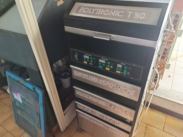 2#6096 Bromografo Mec 2000 e Macchina Polytronic in vendita - foto 9