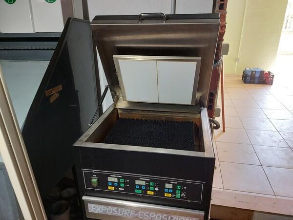 2#6096 Bromografo Mec 2000 e Macchina Polytronic in vendita - foto 11