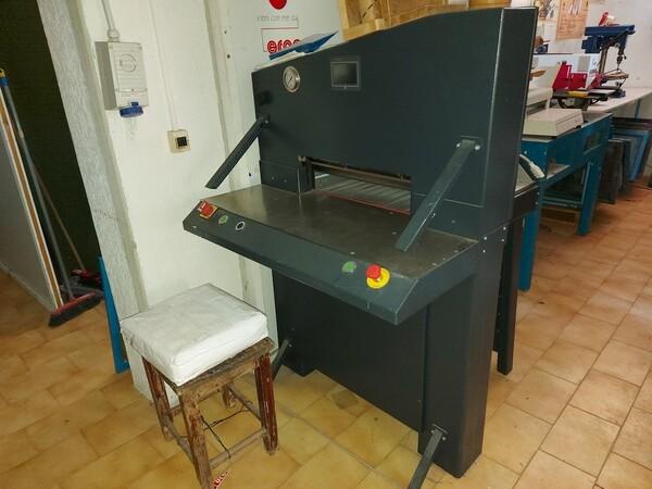 6#6096 Tagliacarta idraulico in vendita - foto 3