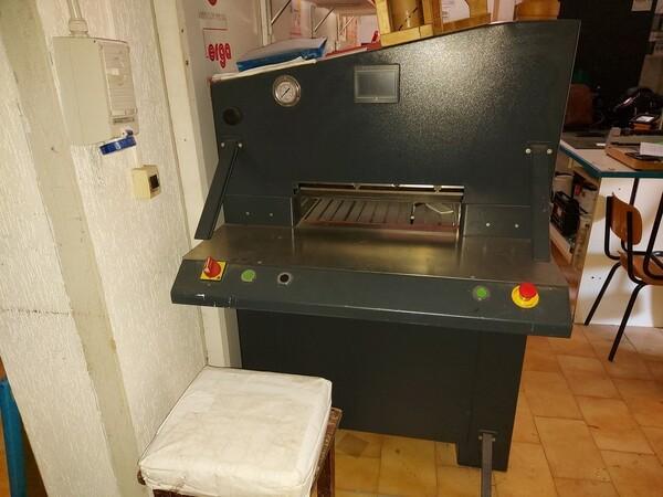 6#6096 Tagliacarta idraulico in vendita - foto 4
