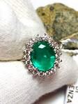 Immagine 6 - Anello Cocktail Smeraldo e Diamanti - Lotto 2 (Asta 6097)