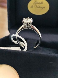 Solitaire in diamonds - Lot 4 (Auction 6097)