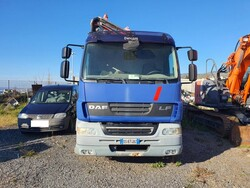 Daf truck with crane - Lot 1 (Auction 6105)