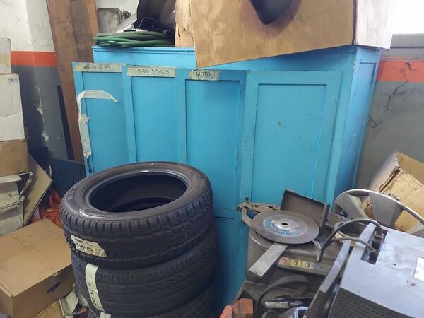 1#6107 Attrezzature da officina e gomme Michelin in vendita - foto 90