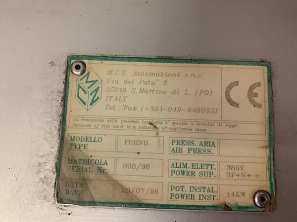 14#6109 Forno retraibile MCZ in vendita - foto 12