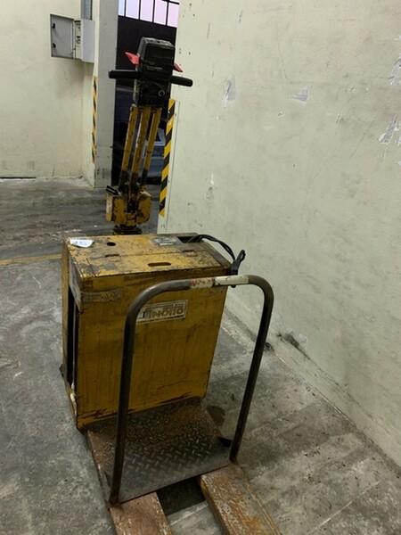 45#6109 Transpallet Jungheinrich in vendita - foto 3