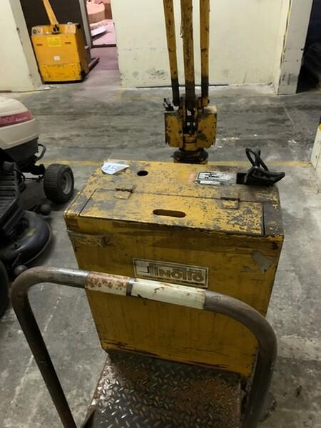 45#6109 Transpallet Jungheinrich in vendita - foto 5