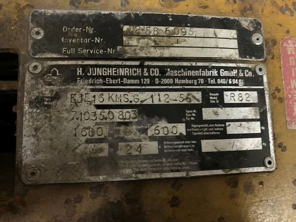 45#6109 Transpallet Jungheinrich in vendita - foto 9