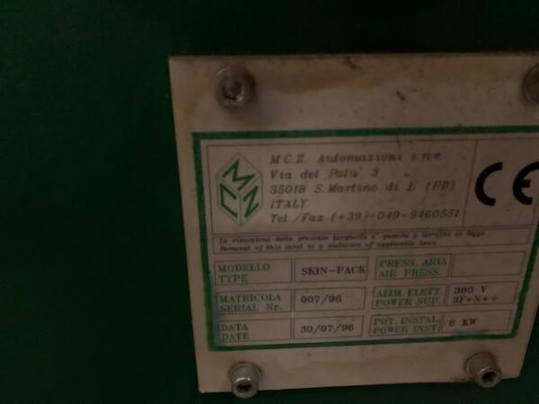 50#6109 Confezionatrice MCz Automazioni in vendita - foto 12
