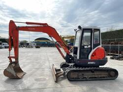 Kubota mini excavator - Lot 4 (Auction 6111)