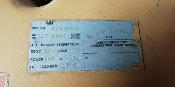 4#6112 Gruppo elettrogeno Caterpillar in vendita - foto 3